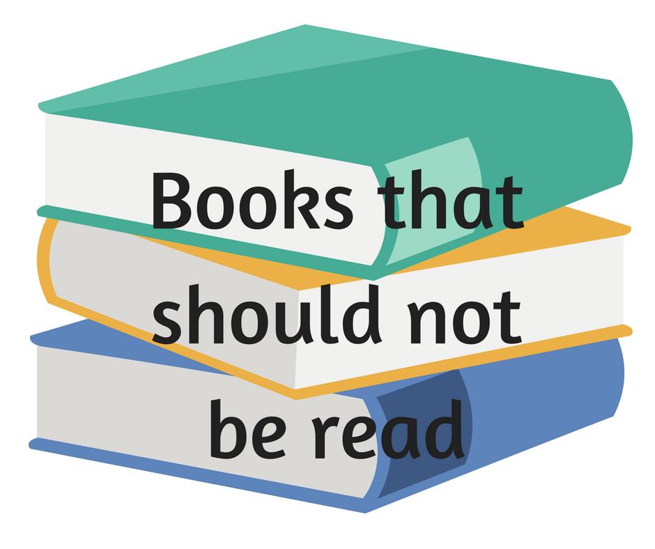 do not read books for speech