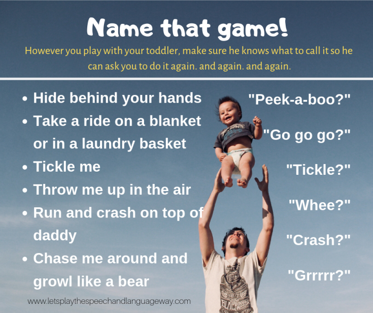 January 2019 – Let's Play: the speech and language way