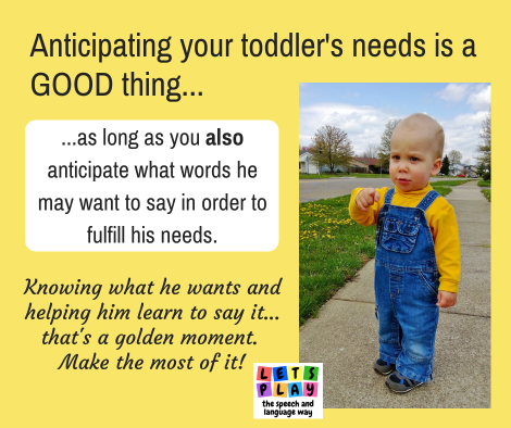 Help your toddler learn to talk by making the moments he initiates communication truly count!