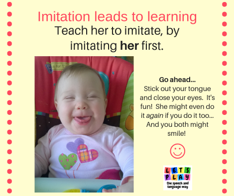 Imitation and gestures will help your toddler learn to talk.