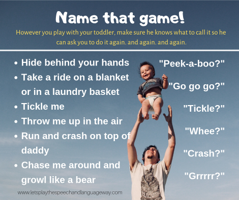 toddlers learn to talk by giving them wait time and naming fun activities